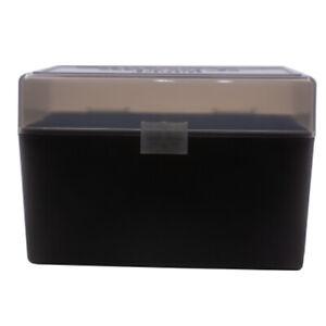 BERRY'S PLASTIC AMMO BOX, SMOKE/BLACK 50 Round 270 / 30-06 - BUY 5 GET 1 FREE