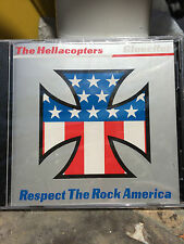 Hellacopters Gluecifer Split CD 1999 Respect The Rock Swedish Man's Ruin Kozik