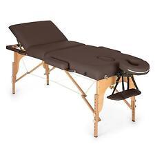 Massagetisch Massagebank Massageliege Klappbar Physio Therapie Tasche Braun 210