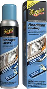 Clear Headlight Coating Maintains Clarity UV Protection Spray Car Meguiars