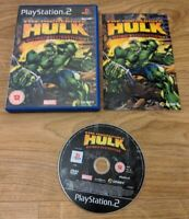 The Incredible Hulk Ultimate Destruction Sony Playstation 2 PS2 Game - Free P&P
