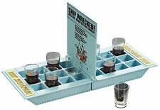 Shipwreck Drinking Game - Take Your Ships (Shots) Into Battle! Ship Wrecked