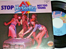 "7"" - Hornettes - Stop & Not too young - 1980 # 0395"