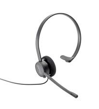 Auerswald COMfortel H-100 analog Headset Schnurgebunden Schwarz BRANDNEU