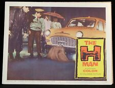 THE H MAN Toho SCI FI Godzilla Horror 1959 Lobby Card A-Bomb Paranoia Cold War 7