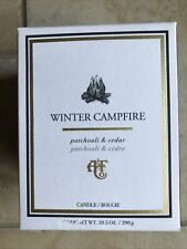 Abercrombie & Fitch, CANDLE, Winter Campfire, Patchouli and Cedar
