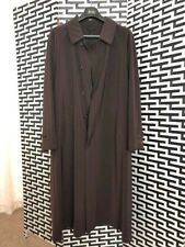 Amadeus Men's Brown Trenchcoat For Harrod's Knightsbridge, Size Large