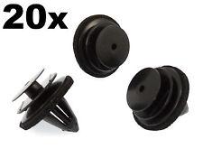 20x Clips garniture en plastique pour cartes de porte, fascia & bordure Couvre-fit DIVERS NISSAN