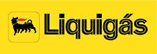 "Agip Liquigas Car Bumper Sticker 8"" x 3"""