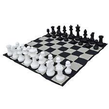 Premium 40cm (16 Inch) Giant Chess Pieces and Nylon Mat