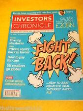 INVESTORS CHRONICLE - SIN STOCKS -  JUNE 10 2011