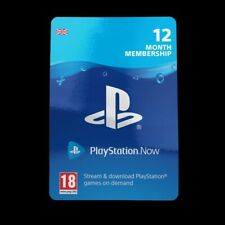Playstation Now 12 Months Subscription Card  - REAL CARDS