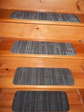 "13 = Step  Indoor  Stair Treads  Staircase Step Rug Carpet  8"" X 24""."