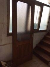 Porte interne con vetro goccia legno noce