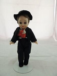 """8"""" Vintage Madame Alexander Doll Bent Knee Walker Spanish  Boy"""