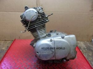 1978 HONDA XL100 ENGINE (FROZE UP, UNKNOWN CONDITION)    #4027