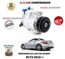 PER MERCEDES SLK 250 CDI R172 204bhp 2012-> AC ARIA CONDIZIONATA COMPRESSORE