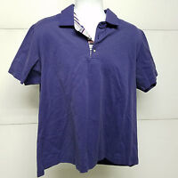 Robert Graham Short Sleeve Polo Shirt XXL Classic Fit Purple Free Shipping
