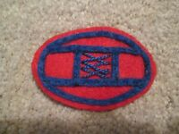 """WWI US Army 30th  Division """"Old Hickory"""" patch wool"""
