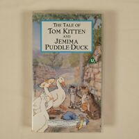 The Tale Of Tom Kitten And Jemima Puddle-Duck - Beatrix Potter (1993 PAL VHS)