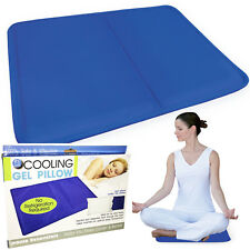 Cooling Pad Sleeping Pillow Natural Comfort  Aid Body Cool Bed Mat 100% Safe