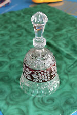 Crystal Bell from Germany - Grape Leaf Border
