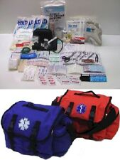 ELITE FIRST AID Pro-II Trauma Bag STOCKED First Responder Medic Kit BLUE or ORG+