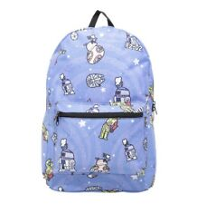 Loungefly Star Wars Backpack Bag R2-D2 BB-8 C-3PO Droids NEW
