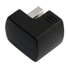New Right Angled USB 2.0 Adapter A Male to Female Extension 90 180 Degree Black