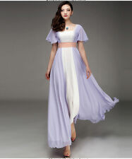 Costume Titanic Rose Chiffon Celebrity Dress Evening Dress Prom Gown Formal Gown