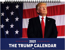 ORMAT Trump 2021 wall calendar 12-month wall calendar 2021 yearly wall calendar