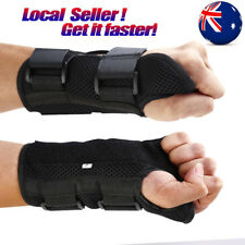 Wrist Splint Brace Protection Support Strap Carpel Tunnel CTS RSI Pain Relief S