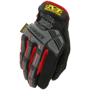 Mechanix Wear M-Pact Gloves Multipurpose Tactical Airsoft Work Mens Black/Red