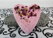 Rose Petal Bath Bomb Heart
