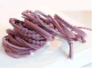 24 Pcs Hair Ties for Women High Elasticity Hair Scrunchies Ponytail Holders