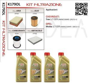 Replacement Filter Kit Chevrolet Trax Opel Mokka 1.7 CDTI - Ydea