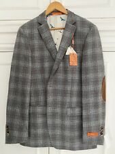 Mens Tallia Checked Blazer 42 L, New With Tags