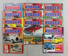 Street Rodder Magazine 1978 - Near Complete Year - 12 Full Issues