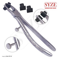 SYZE Ortho Dental Crown Removing Pliers With 2 Extra Durable Rubber Fine Tips