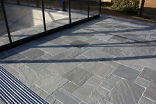 Royale Stones, Kandla Grey Premium Indian Sandstone Paving - 19 M2 Pack