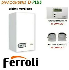 Caldaia condensazione Divacondens D PLUS F24 Ferroli kit fumi e cronotermostato