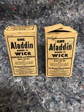 New listing Two Nos Aladdin Model No. 11 Wicks In Boxes