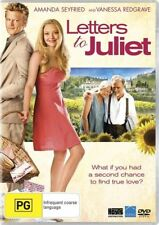 Letters To Juliet DVD Filmed On Location In Italy Amanda Seyfried BRAND NEW R4