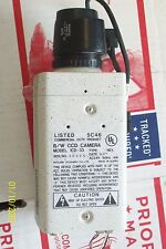 IKEGAMI B/W CCD CCTV SECURITY CAMERA 5C46 MODEL ICD-33 & RAINBOW LENS L4MM GE