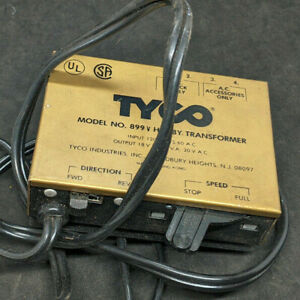 Vintage TYCO HO Scale Electric Power Pack #899V  TRANSFORMER