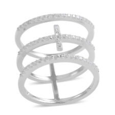 STERLING CROSS KNUCKLE RING #size8rings #size6rings #size5rings #crossrings #925