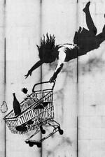 Banksy Shop Til You Drop - Poster 24x36 inch
