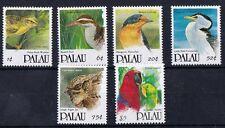 Palau 1992 serie corrente Uccelli (II) 470-75 mnh