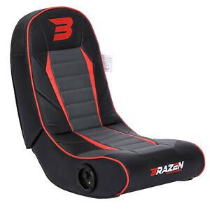 Pre-Loved BraZen Sabre 2.1 Surround Sound Gaming Chair - Red
