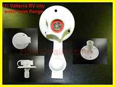 "RV Valterra White city water fill inlet flange w/check valve trailer 2-3/4"" V168"
